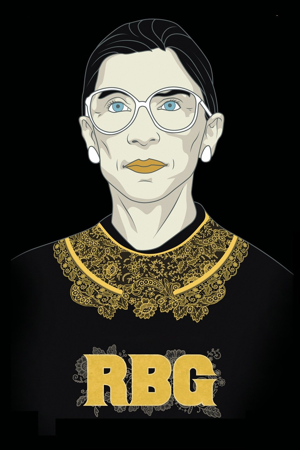 RBG, US poster, Ruth Bader Ginsburg, 2018. © Magnolia Pictures /Courtesy